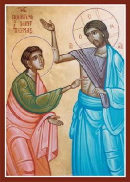 Resultado de imagem para Jesus e tomé icone